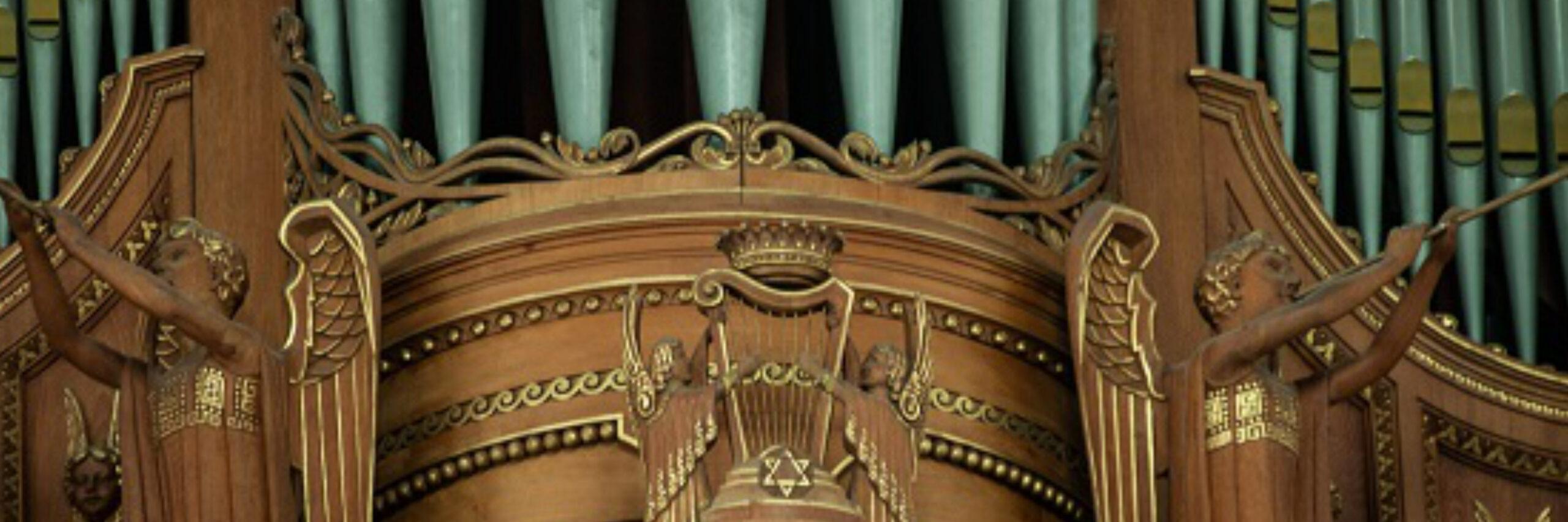 Zomeravond-orgelconcerten  van juli tot september